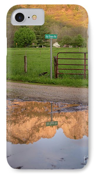 Seneca Rocks Reflection Phone Case by Dr Regina E Schulte-Ladbeck