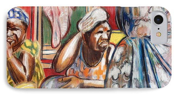 IPhone Case featuring the painting Senegal, 1965 by Gary Coleman