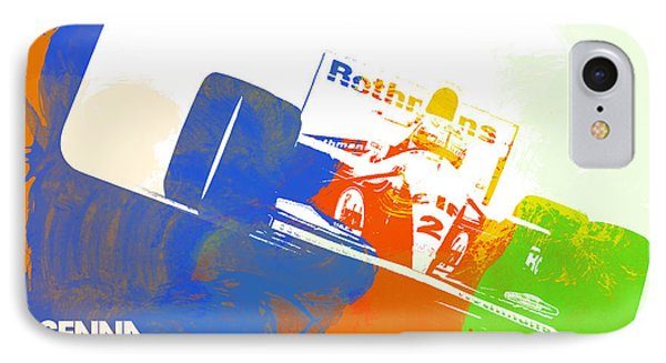 Senna IPhone Case by Naxart Studio