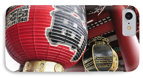 Sensoji Lanterns Phone Case by Andy Smy