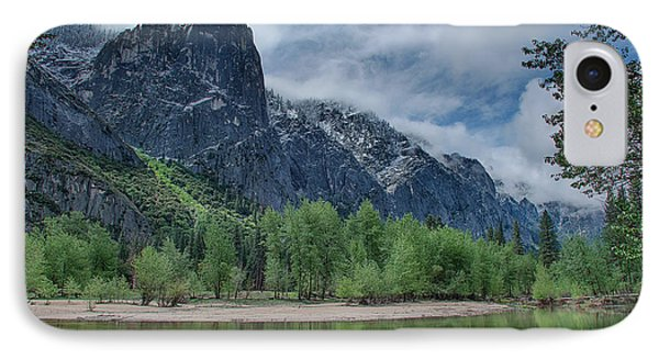 Sentinel Rock After The Storm IPhone Case by Bill Roberts