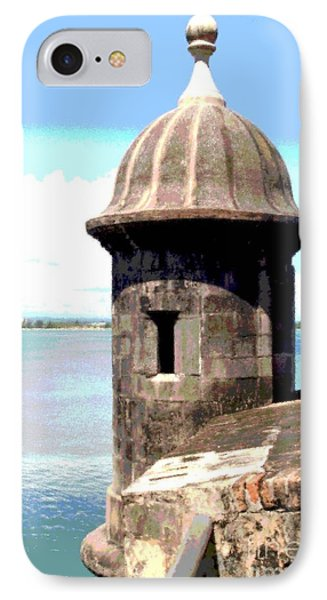 IPhone Case featuring the photograph Sentry Box In El Morro by The Art of Alice Terrill