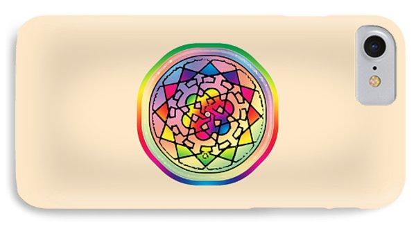 Sephardic Medieval Mandala IPhone Case