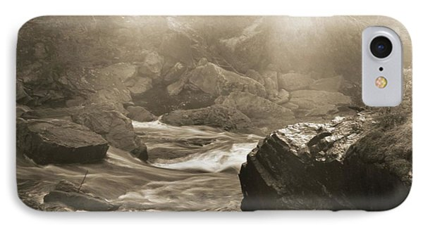 Sepia Moody River IPhone Case