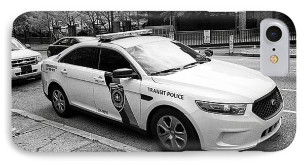 septa southeastern pennsylvania transit authority transit police ford cruiser patrol car Philadelphi IPhone Case