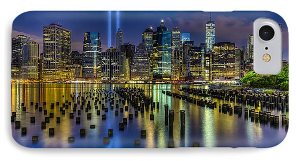 September 11 Nyc Tribute IPhone Case by Susan Candelario