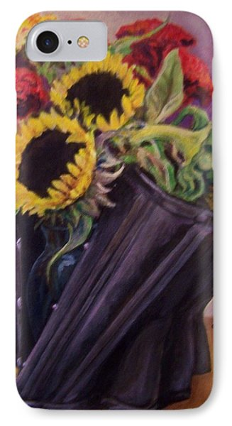 IPhone Case featuring the painting September Cincher by Laura Aceto