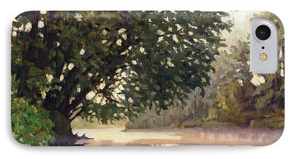 September Dawn Little Sioux River - Plein Air IPhone Case by Bruce Morrison