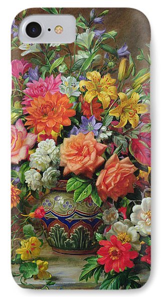September Flowers   Symbols Of Hope And Joy IPhone Case by Albert Williams