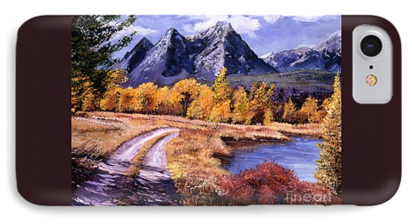September High Country IPhone Case by David Lloyd Glover