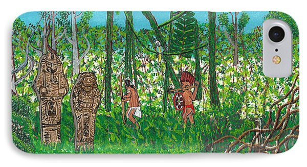 September   Hunters In The Jungle IPhone Case
