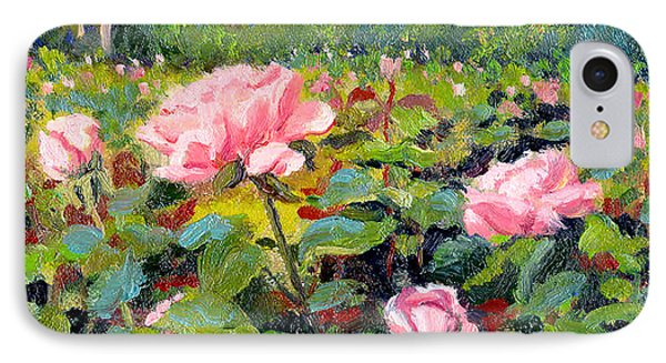 September Roses Phone Case by Keith Burgess