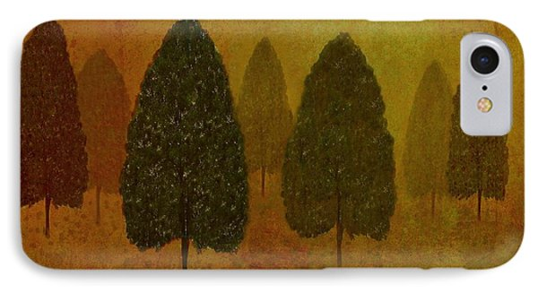 September Trees  Phone Case by David Dehner