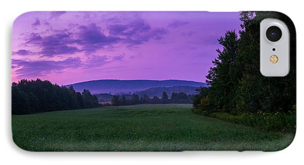 IPhone Case featuring the photograph September Twilight by Chris Bordeleau
