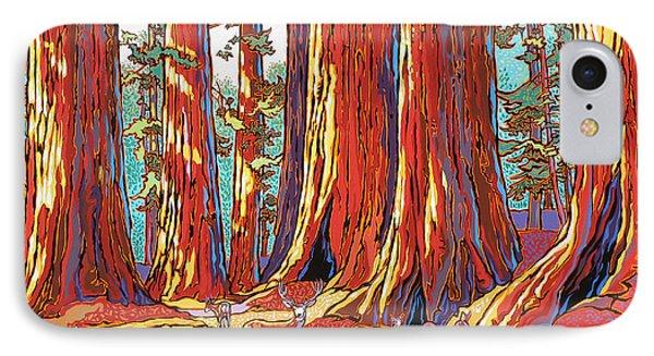 Sequoia Deer IPhone Case