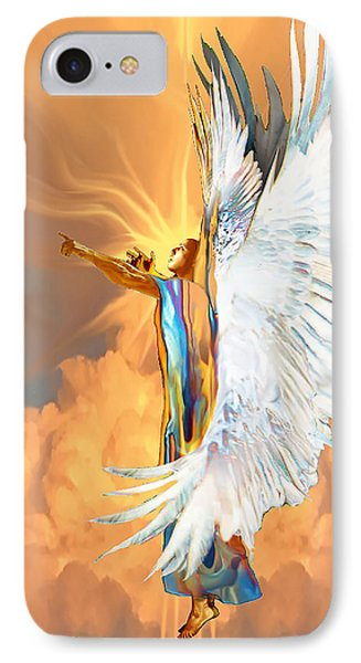 Seraph Cries Out IPhone Case by Ron Cantrell