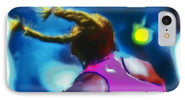 Serena Smash IPhone Case