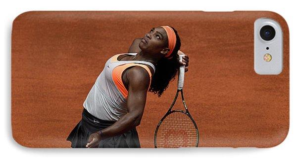 Serena Williams 3 IPhone Case by Dani Pozo