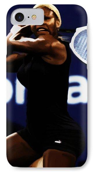 Serena Williams Catsuit 03b IPhone Case