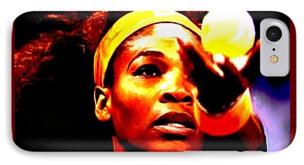 Serena Williams First Round IPhone Case