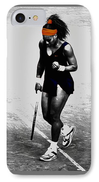 Serena Williams Match Point 3a IPhone 7 Case