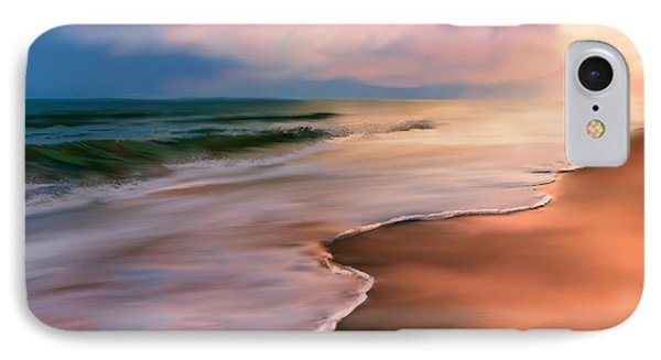 Serene Beach At Sunrise IPhone Case