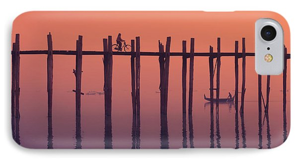 Serene Dawn Phone Case by Marji Lang