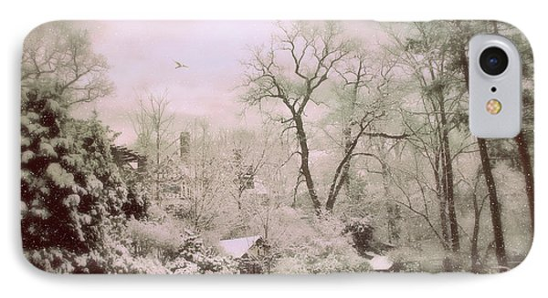 IPhone 7 Case featuring the photograph Serene In Snow by Jessica Jenney