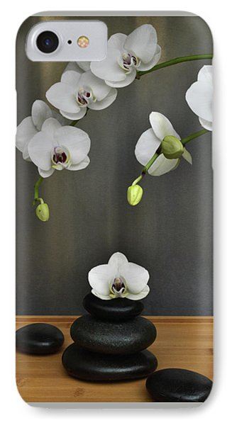 IPhone Case featuring the photograph Serene Orchid by Terence Davis