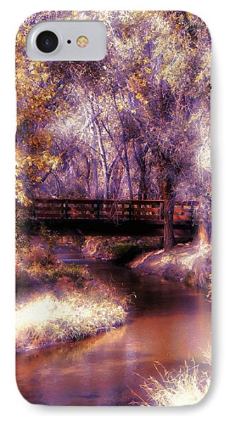Serene River Bridge IPhone Case