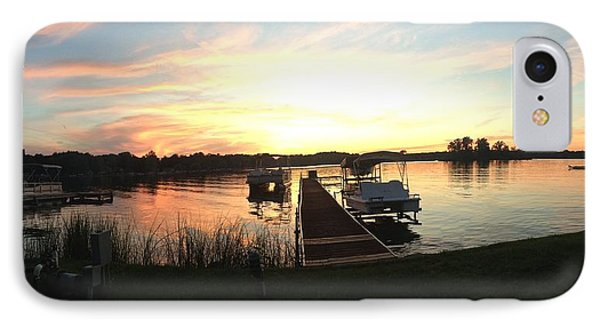 IPhone Case featuring the photograph Serene Sunset by Rebecca Wood
