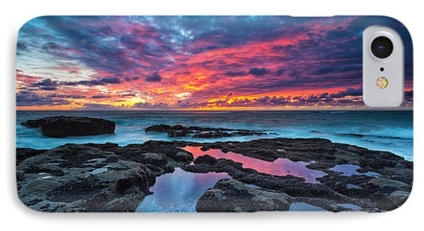 Pacific Ocean iPhone 7 Case - Serene Sunset by Robert Bynum