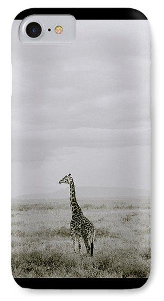 Serengeti Solitude IPhone Case by Shaun Higson