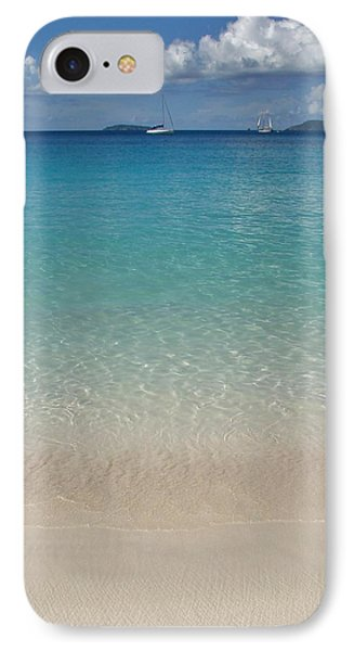 Serenity At Trunk Bay  IPhone Case by Margaret Bobb