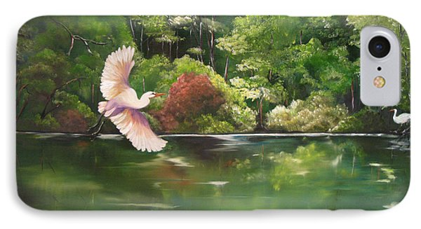 Serenity IPhone Case by Carol Sweetwood