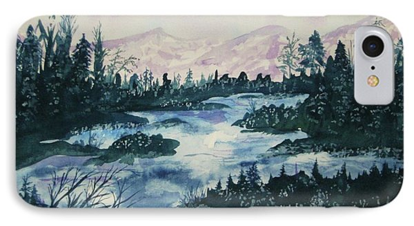 IPhone Case featuring the painting Serenity IIi by Ellen Levinson