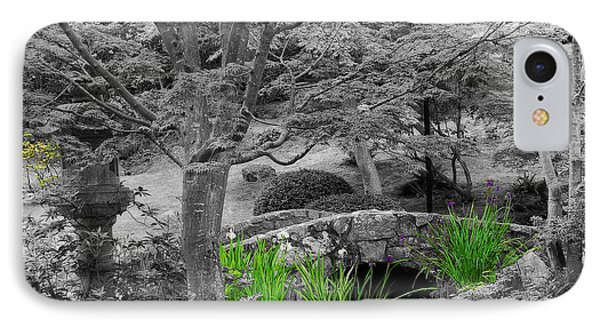 Serenity In Black And White IPhone Case