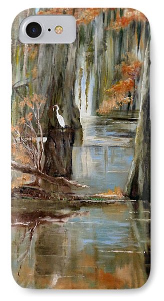 Serenity In The Swamp IPhone Case