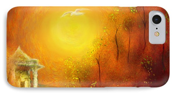 IPhone Case featuring the painting Serenity by Michael Cleere