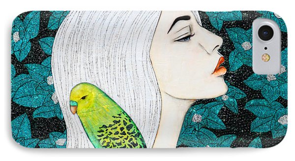 IPhone Case featuring the painting Serenity by Natalie Briney