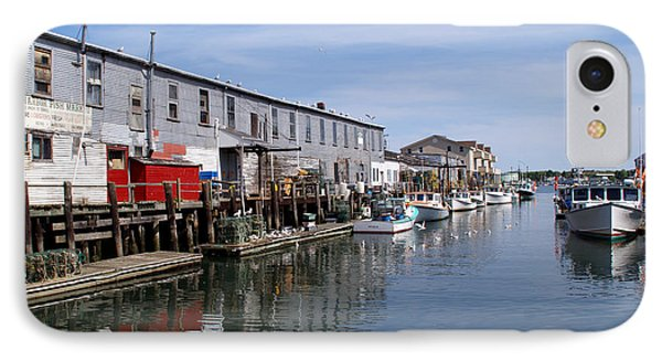 IPhone Case featuring the photograph Serenity Of The Harbor by Lynda Lehmann