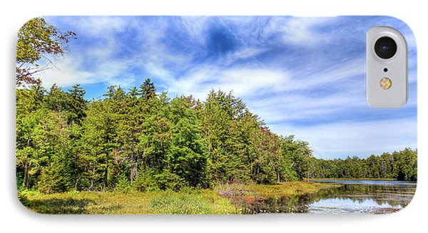 IPhone Case featuring the photograph Serenity On Bald Mountain Pond by David Patterson