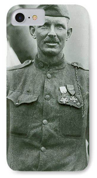 Sergeant Alvin York Phone Case by War Is Hell Store