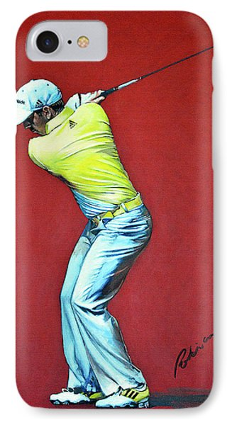 Sergio Garcia By Mark Robinson Phone Case by Mark Robinson