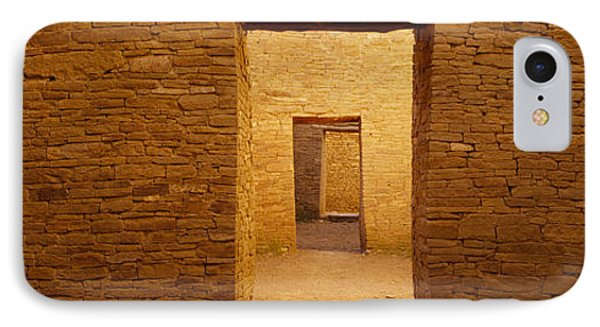 Series Of Doors In An Ancient Building IPhone Case by Panoramic Images