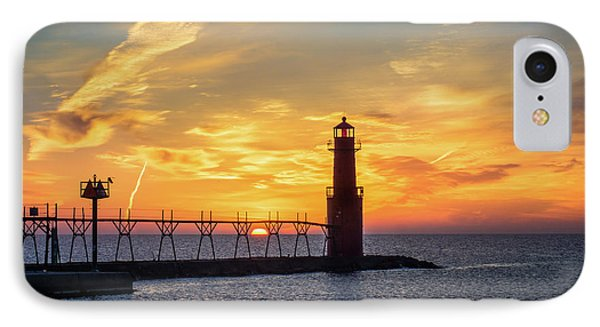 IPhone 7 Case featuring the photograph Serious Sunrise by Bill Pevlor