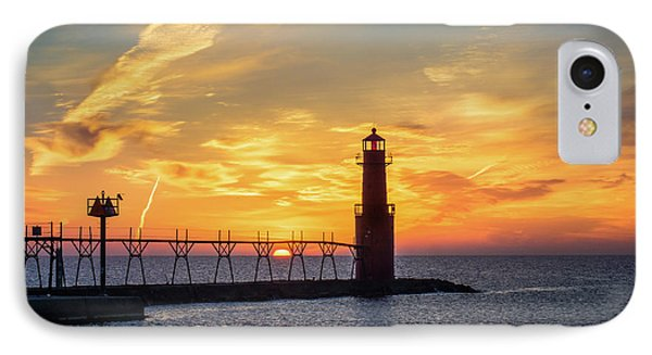IPhone Case featuring the photograph Serious Sunrise by Bill Pevlor