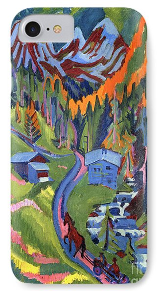 Sertig Path In Summer IPhone Case by Ernst Ludwig Kirchner