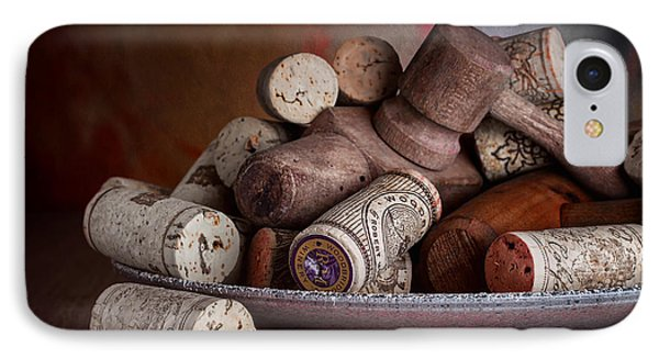 Served - Wine Taps And Corks IPhone Case by Tom Mc Nemar