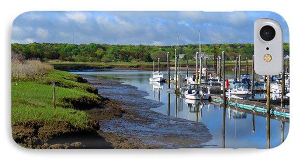 Sesuit Harbor In Spring IPhone Case